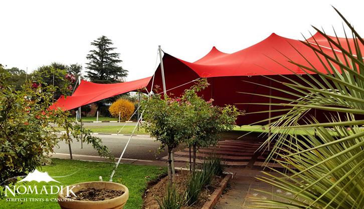 Red Outdoor Tent